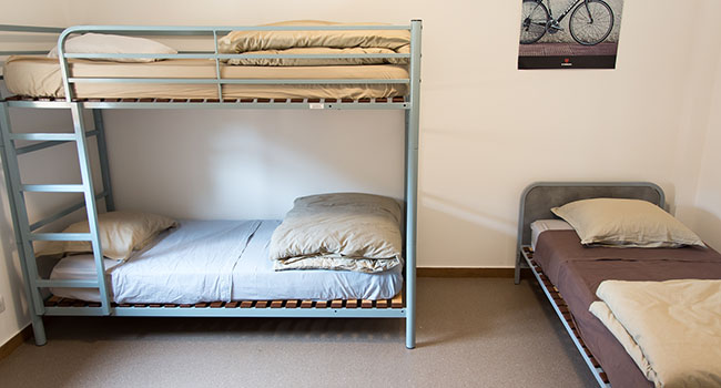 chambre bed and bike